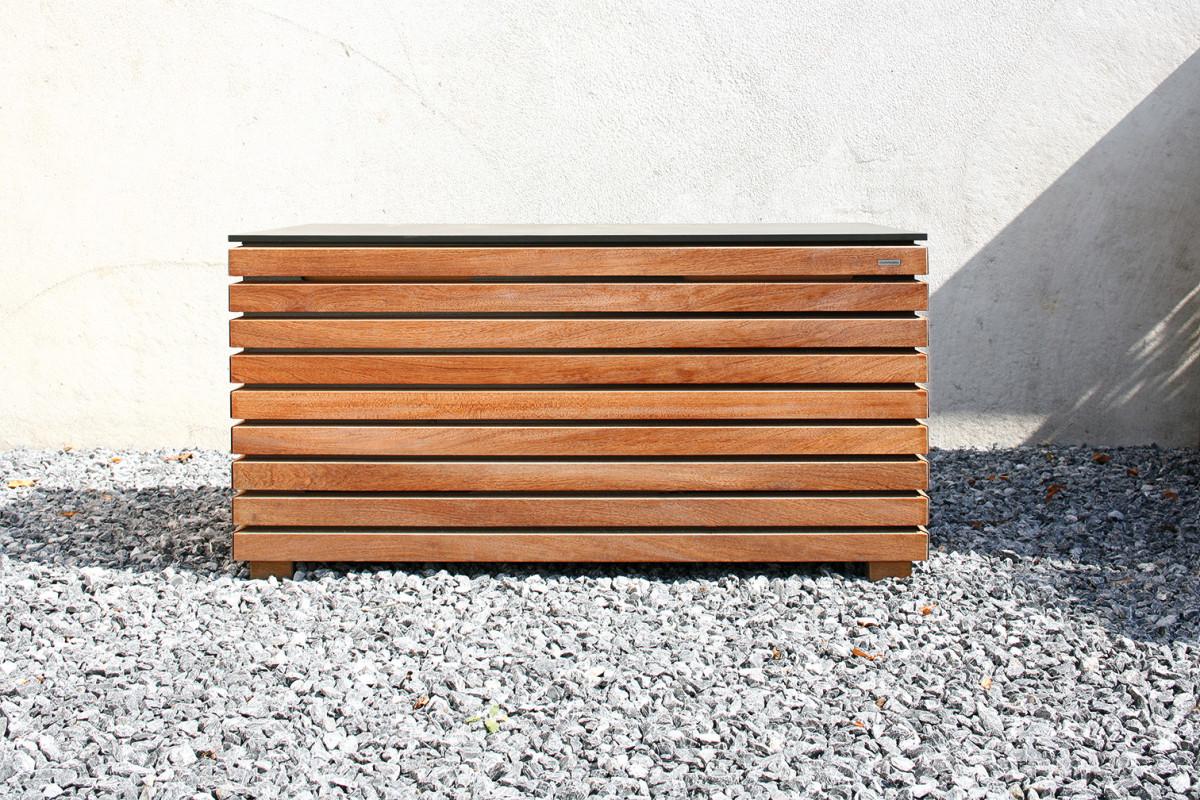 kissenbox teak mazuvo gartenm bel. Black Bedroom Furniture Sets. Home Design Ideas