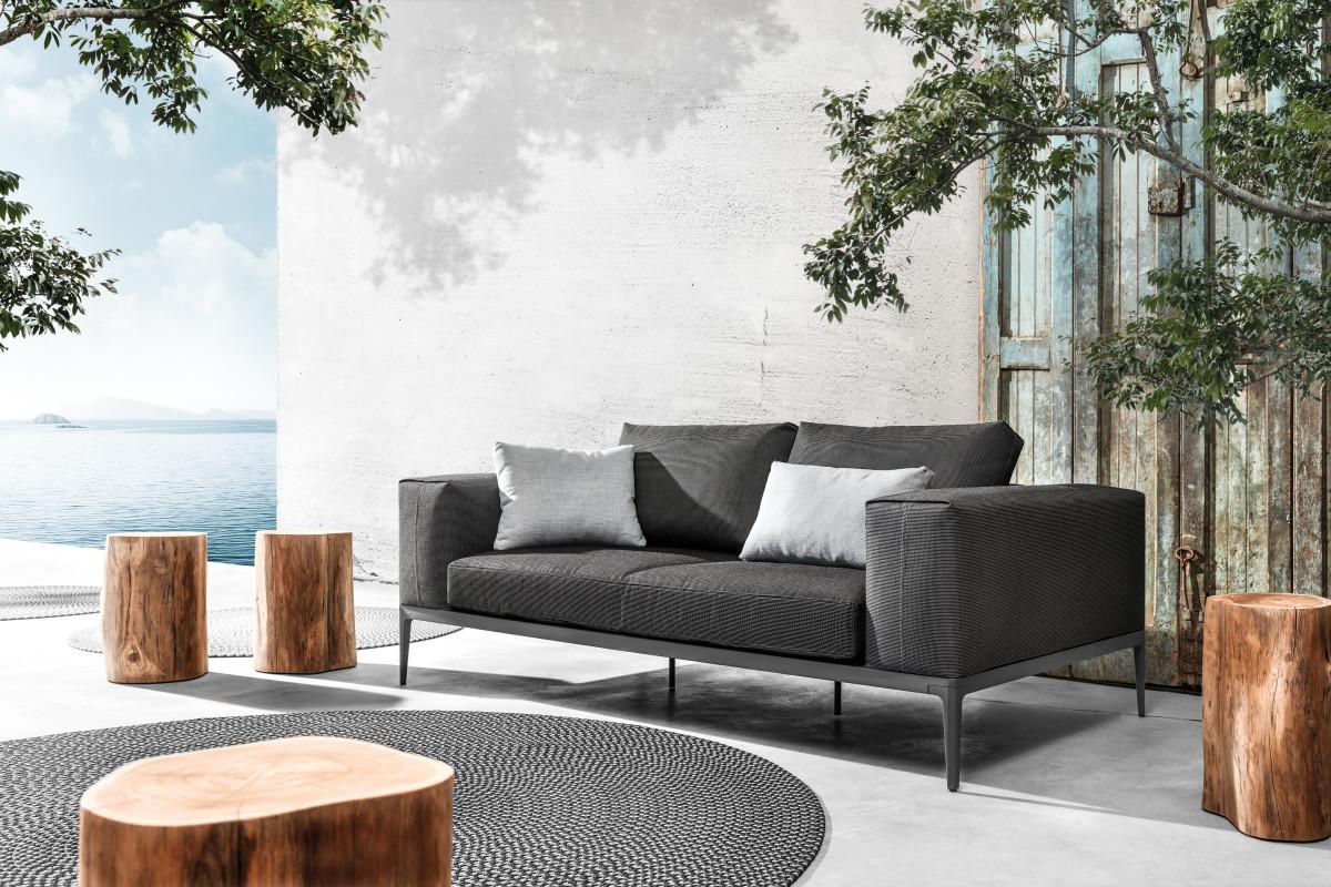 Grid Lounge by GLOSTER - Mazuvo Gartenmöbel