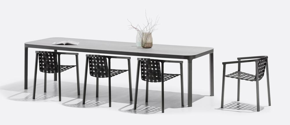 duct sessel mit armlehne edelstahl mazuvo gartenm bel. Black Bedroom Furniture Sets. Home Design Ideas